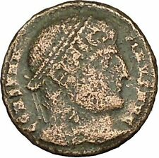 CONSTANTINE I the GREAT Ancient Roman Coin Military Camp gate  i40368