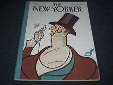 1984 FEBRUARY 20 NEW YORKER MAGAZINE - BEAUTIFUL FRONT COVER FOR FRAMING - C 559