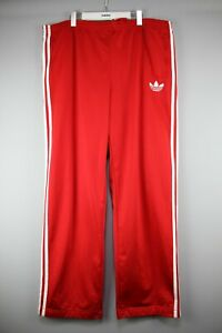 Adidas Trefoil Pants Windsuit Men Running Track Red Athletic  Size 2XL