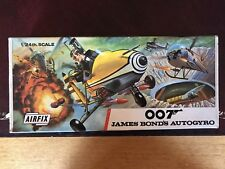 Airfix Model Kit 007 James Bond Autogyro In Excellent Complete Condition