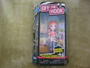 OFF THE HOOK DOLL ALEXIS   NEW IN BOX AGE 5+