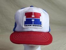 TEAM HONDA Hondaline Vintage Mesh Snapback Patch Trucker's Hat/Cap