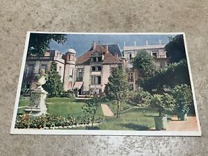 1900s postcard . pavillon sevigne vichy