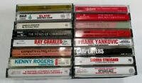 16 - Christmas Music Various Artists Mixed Misc Titles Untested Cassettes