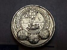 2010 £ 1 Libra Moneda Caza capitales Belfast circulado QEII ROYAL MINT UK GI4