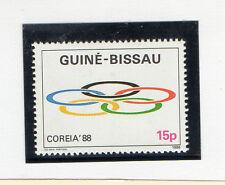 Guinea Bissau Deportes olimpiada de Corea año 1988 (CP-607)