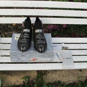 Sidi Hydro Goretex Winter Cycling Boots, carbon soles Size 47, USA 12, Black