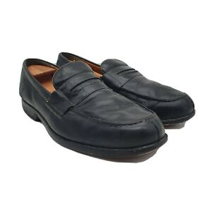 Timberland Penny Loafers Mens 12 M Black Leather Smart Comfort