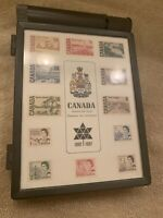 Canada Centennial Issue stamps 1867 -1967 stamp box
