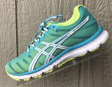 Womens Asics Gel-Speedstar 6 Teal/Neon Running Shoes Size US 6