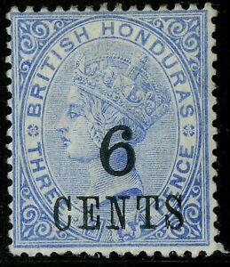 British Honduras  1891   Scott # 36  Mint Hinged