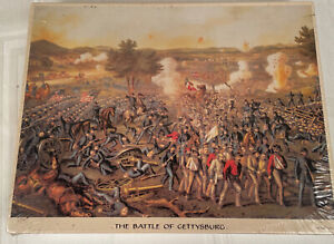 The Battle Of Gettysburg Vtg Jigsaw Puzzle 500 Pc. Factory Sealed Springbok New
