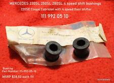 MERCEDES 230SL - 280SL 220SE W111 W113 Manual Trans Shift bushings 111 992 05 10
