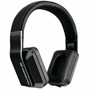 Monster Inspiration noise-isolating  over-ear headphones Black