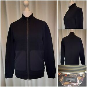 Ted Baker Navy Short Jacket Size 3 BRAND NEW