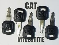 ( 5 ) Cat Keys Caterpillar Heavy Equipment Ignition Key 5P8500 Excavator Skidder