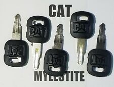 ( 5 ) Cat Keys Caterpillar Heavy Equipment Ignition Key 5P8500 Excavator Skidder