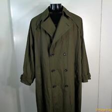 LONDON FOG RAINCOAT Rain Trench Coat Mens Size 50 LONG 2XLT Olive green belt