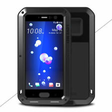 LOVE MEI Waterproof Metal Case Shockproof Gorilla Glass Cover For HTC U11