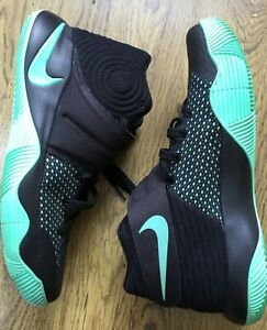 Nike Kyrie Irving 2 Black & Green Glow 819583-007 Men's US Size 9