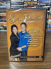 Swing Dancing For Beginners Volume 1 Shawn Trautman DVD NEW