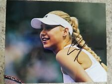 Anna Kournikova Signed Autographed 8 x 10 photo Tennis
