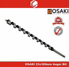 OSAKI 25x300mm Auger Wood Drill Bit