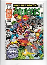 The Avengers King-Size Special #4 January 1971