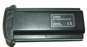 Genuine Canon DC-E1 DC Coupler for Canon EOS 1D mk 1/2 series