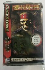 Pirates of the Caribbean Dead Man's Chest Booster Pack NEW Trading Card Game x14