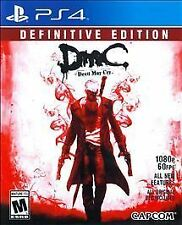 PlayStation 4 : DMC Devil May Cry: Definitive Edition - VideoGames