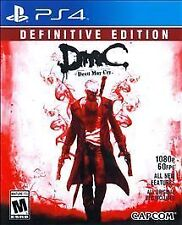 DMC Devil May Cry: Definitive Edition PS4 Sony PlayStation 4 [FREE SHIPPING]