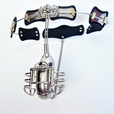2017 Latest Design Stainless steel Model-T Adjustable Male Chastity Belt Device