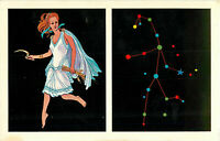 Postcard Virgo The Virgin