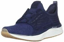 Skechers Men's Skyline Silsher Oxford Casual Shoes Size 11 Color: Navy Blue & Wh