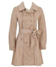 Alannah Hill She Travels First Class Trench Coat Jacket Size 8