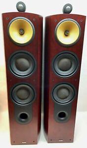 Bowers & Wilkins (B&W) 803 Nautilus Floor-Standing Loud Speaker System - Rosenut