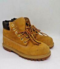 TIMBERLAND Boy's Toddlers Size 12 Wheat Nubuck Waterproof Boots
