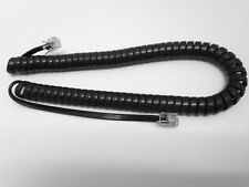 NEW Replacement 9' Handset Coil Cord for Siemens Business Phone Charcoal Gray
