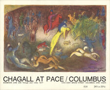 1000 Chagall 1977 Enlevement de Chloe (Abduction of Chloe) Postcards