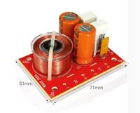 2pcs 2-Way Speaker Crossover Filters Hi-Fi Audio Frequency Divider 80W 4~8Ω