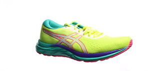 ASICS Womens Gel-Excite 7 Safety Yellow/White Running Shoes Size 9.5 (1395740)