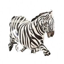 1 X Cartoon Zebra Inflatable Balloons Jungle Animal Party Props Kids Toy MaJC Jc