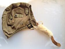 MINT Original WW2 US Army AAF A-9 Pilot Flight Helmet 1942 Large