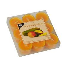 162 orange Duftlichte Mango-Papaya Party Teelichter Duftkerzen RAL- zertifiziert