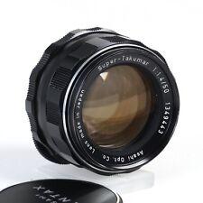 ^ Asahi Pentax Super Takumar 55mm 1.4 Prime lens M42 Mount [EX++]