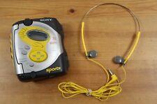 Vintage Sony Walkman Wm-Fs421 Sports Fm/Am Radio Cassette Player