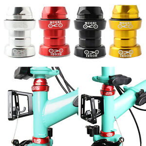 """Bicycle Headset 43mm 1"""" 25.4mm Threaded Fork 30mm Headtube Tapered Headset Parts"""