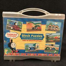 Thomas Tank Engine Friends Block Puzzles 6 Scenes 24 Blocks