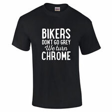 Motorcycle Fitted Singlepack T-Shirts for Men
